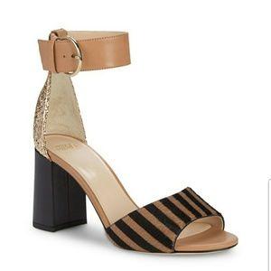 Frances Valentine Chunky heel sandal
